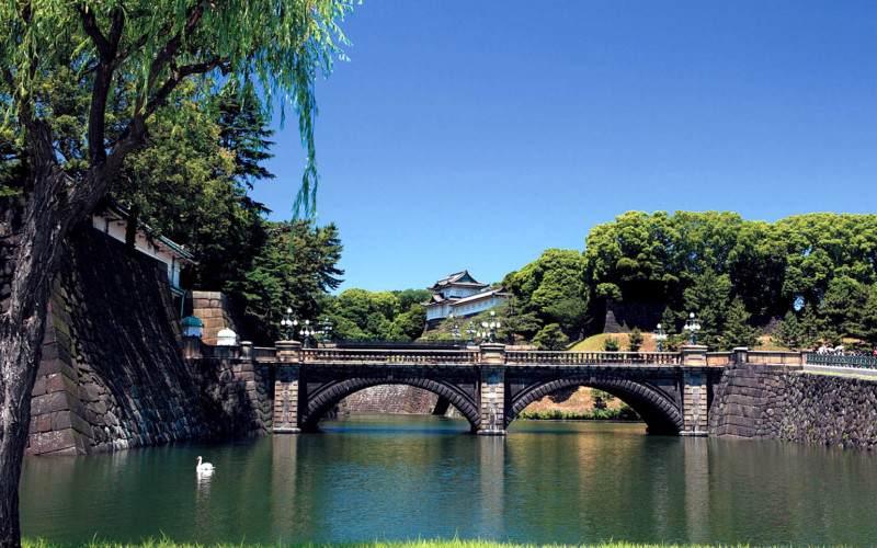 Nijubashi Bridge of Imperial Palace