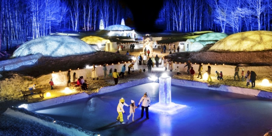 Tomamu Resort (Ice Village)