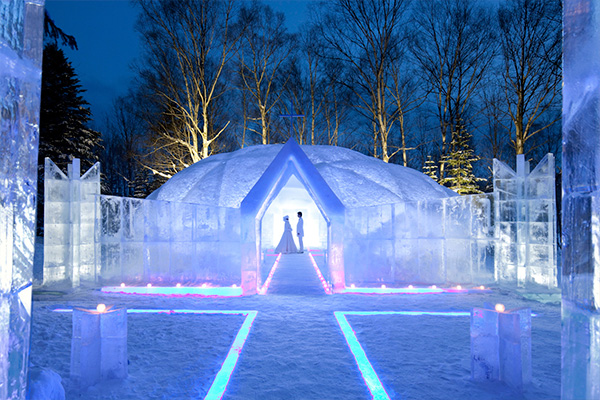 Ice Chapel (Tomamu Resort)