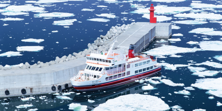 Abashiri Ice Breaking Cruise