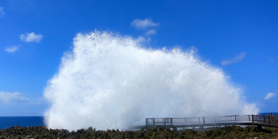 Blow Water at Nusa Dua